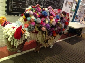 Yak at the Yarn Festival